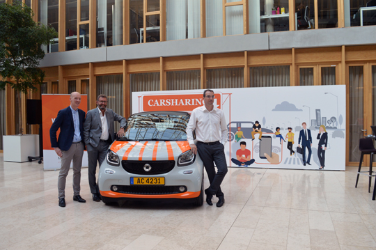 « SwopCar » : en route pour un car sharing d'entreprise 2.0