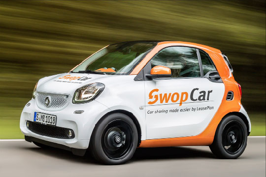 Nouveau: « SwopCar », le corporate car sharing de LeasePlan