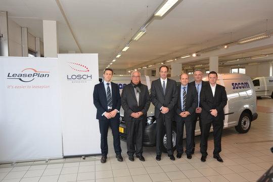 LeasePlan et Socom, un partenariat en béton