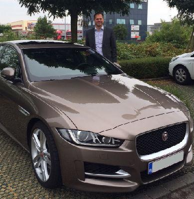 La Jaguar XE testée par Peter Knips