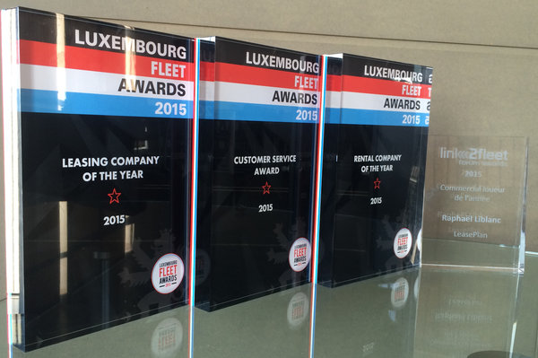 LeasePlan: 4 prix d'excellence