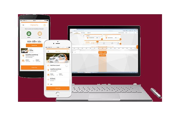 SwopCar Solution de mobilité car sharing LeasePlan